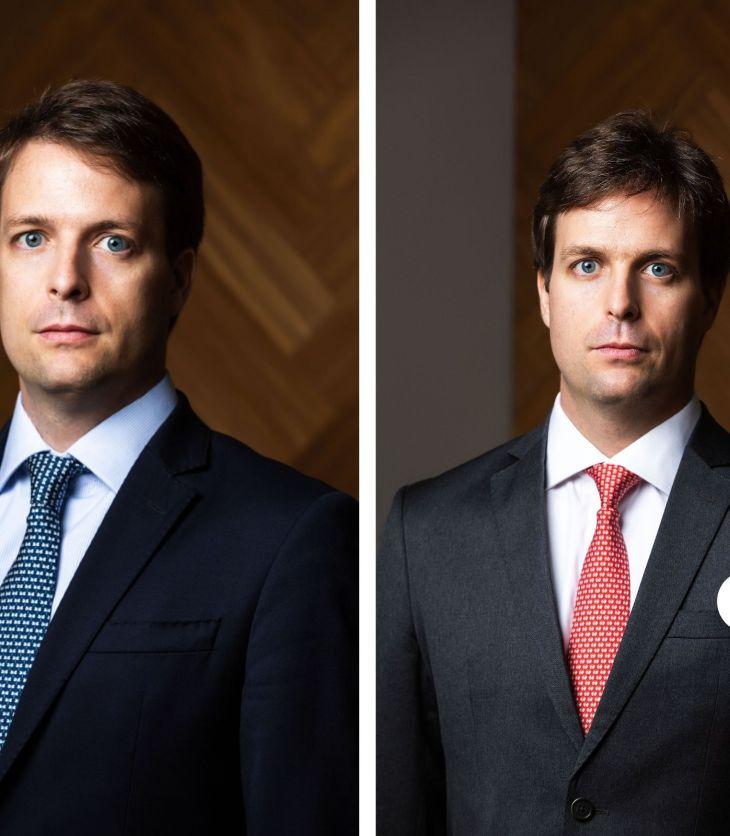Gêmeos Guilherme e Renato Stuart