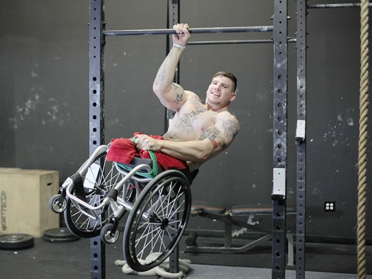 Though not officially an Olympic sanctioned lift, still very rad. Zach Ruhl