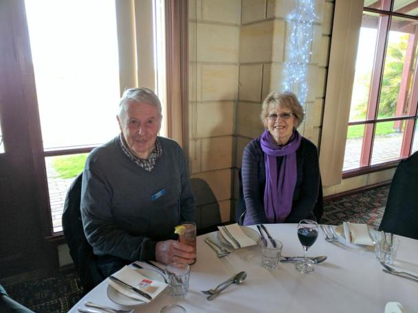 SPC 2017 HASTINGS LUNCH MEMBERS GORDON AND SANDRA