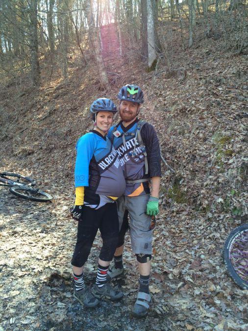 Mountain Bike Pregnancy