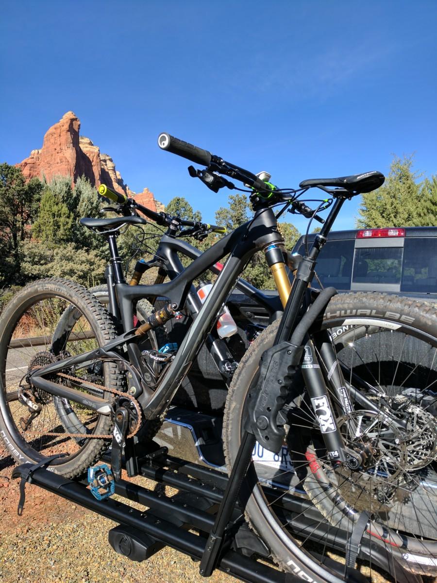 Review Rocky Mounts Split Rail Rack One Sweet Bike