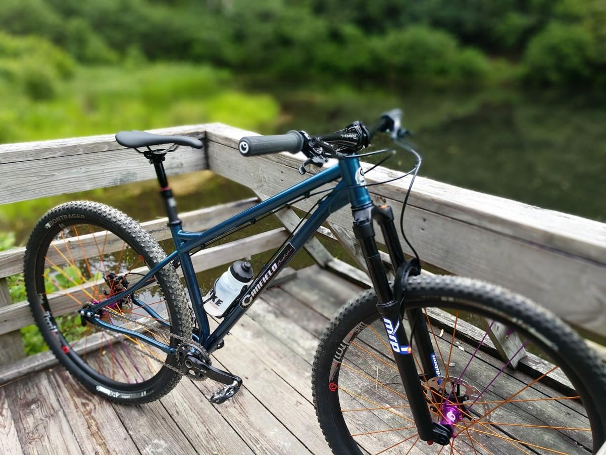 Preview: Canfield Nimble 9 - Crankjoy: Mountain bike inspiration ...