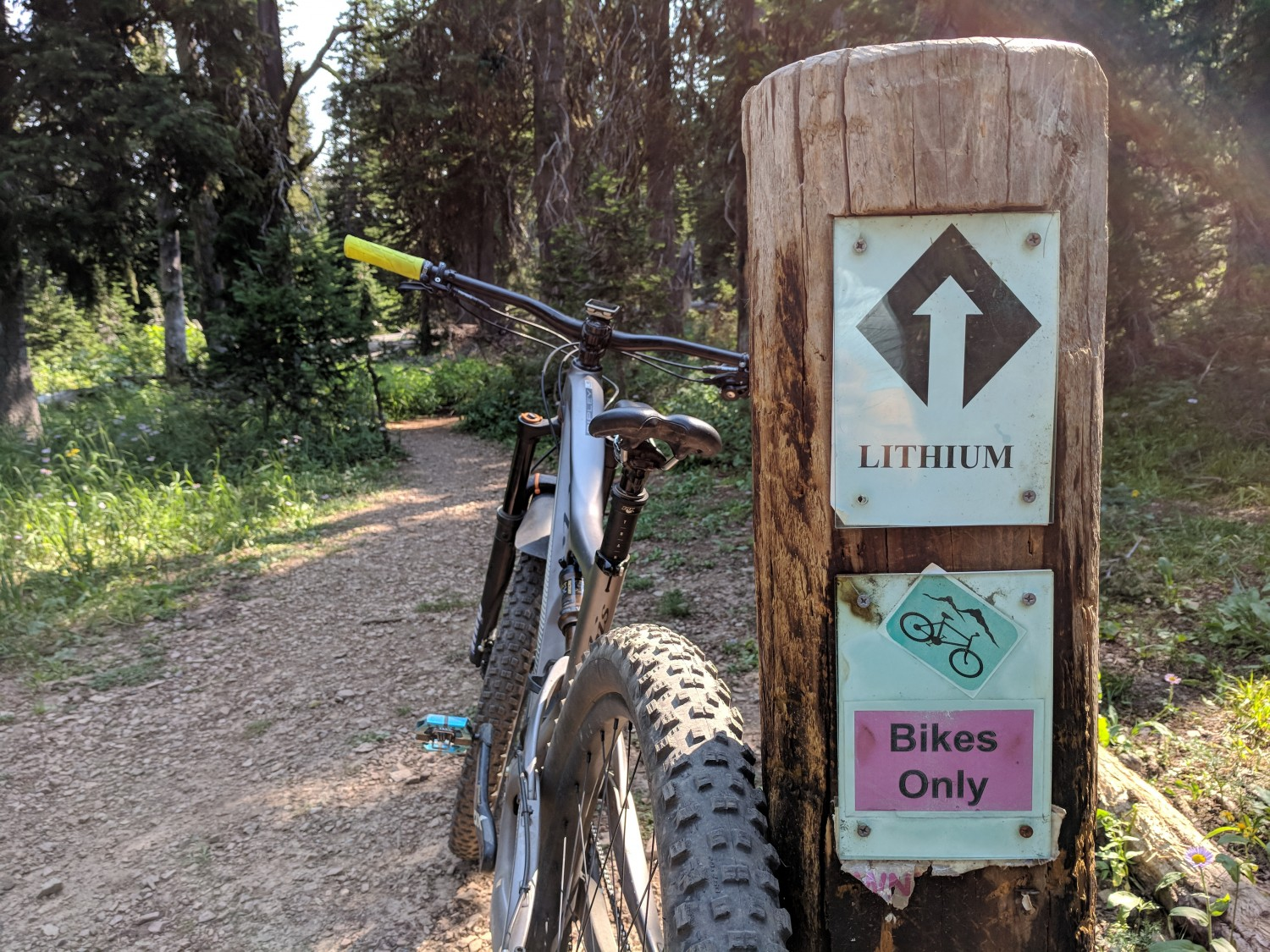 Lithium Bike Only Trail