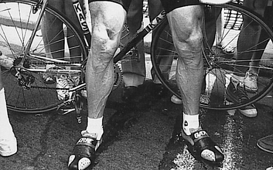 Sean Kelly's Legs, a pair of legends in socks