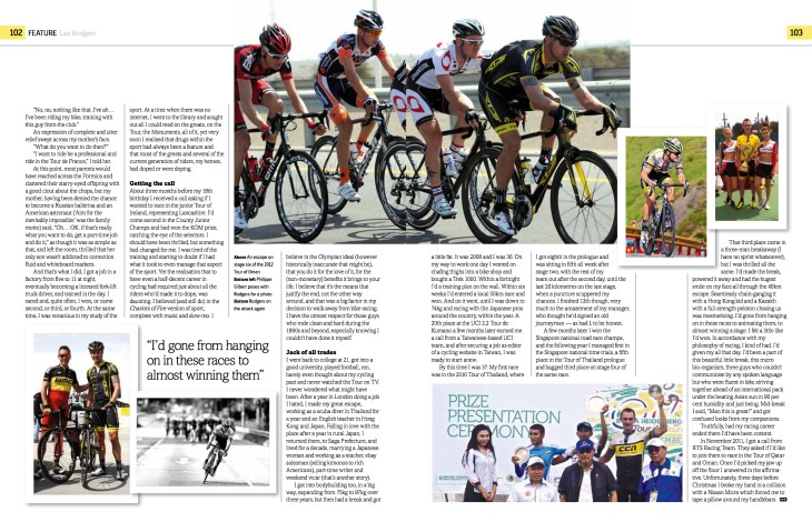 Lee Rodgers Cycle Sport pg 3