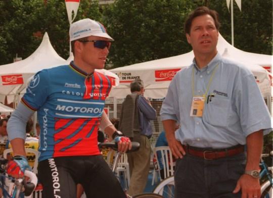 Jim Ochowicz with LA