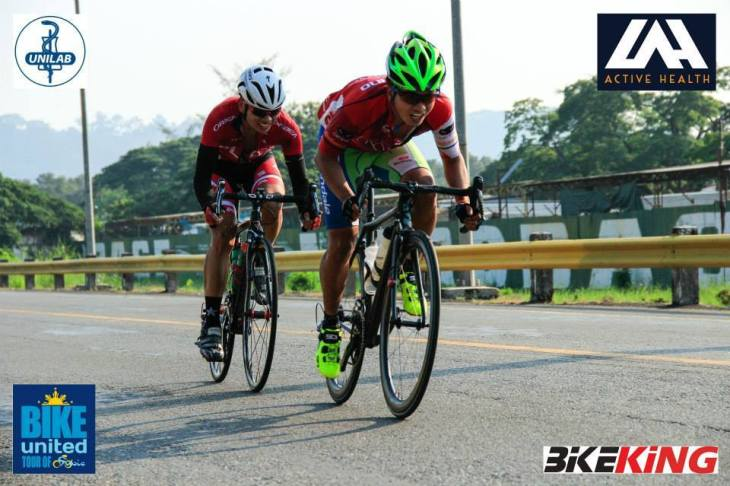 Rafael in the Tour of Subic, putting down the hammer!