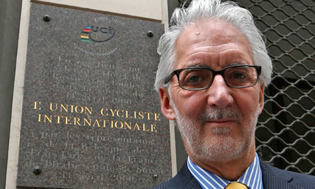 UCI President Brian Cookson