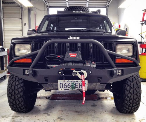 small resolution of jeep with vr10 s winch