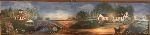 Painting from Gibson City Country Kettle