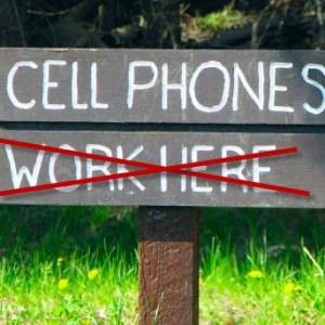 No phone signal
