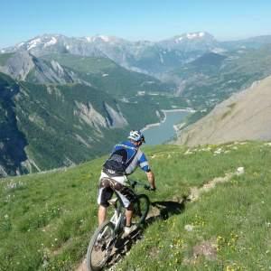 Enduro in the Alps