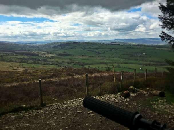 llandegla opa trail center wales coed llandegla trail guide review ride guide mountainbike