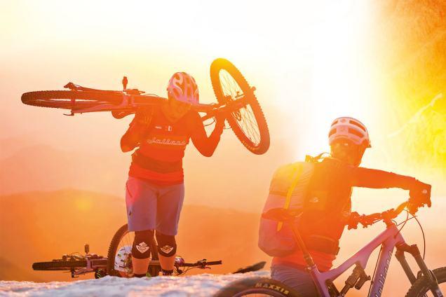 mtb mountainbiking women hopetechwomen biking mountainbiking retrospective 2016
