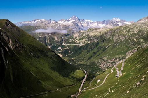 Beautiful views over Switzerland