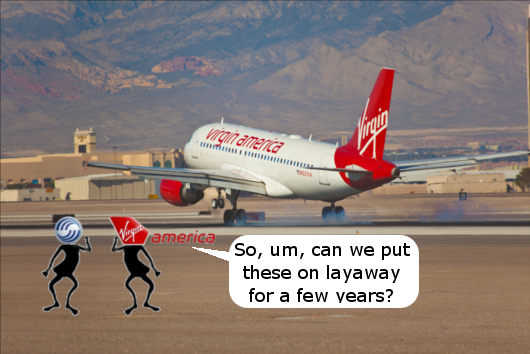 Virgin America Cuts Aircraft Orders