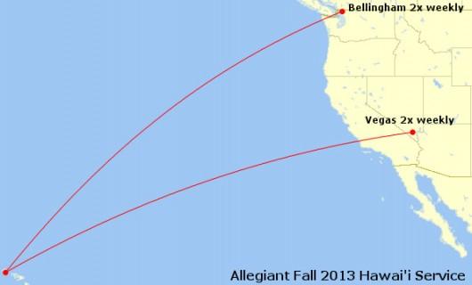 Allegiant Fall 2013 Hawai'i
