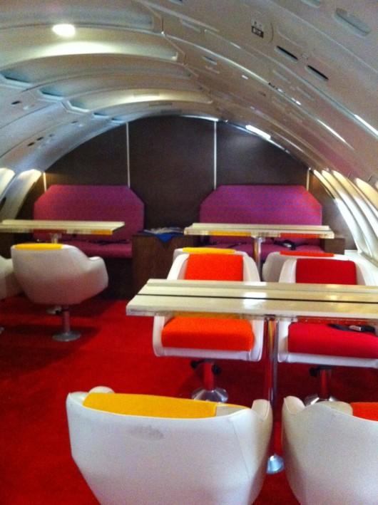 Pan Am 747 Upper Deck
