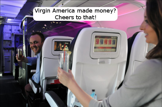 Virgin America Profits