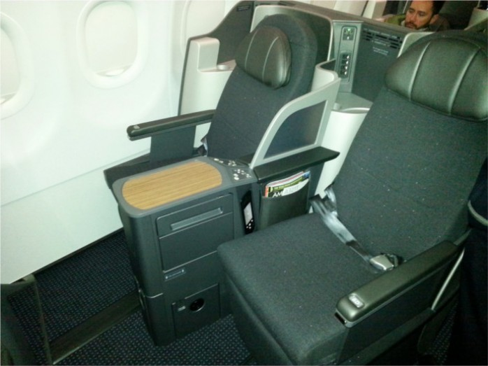 American A321 Transcon Business Class