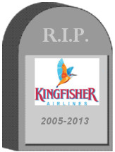 Kingfisher Airlines Shut Down