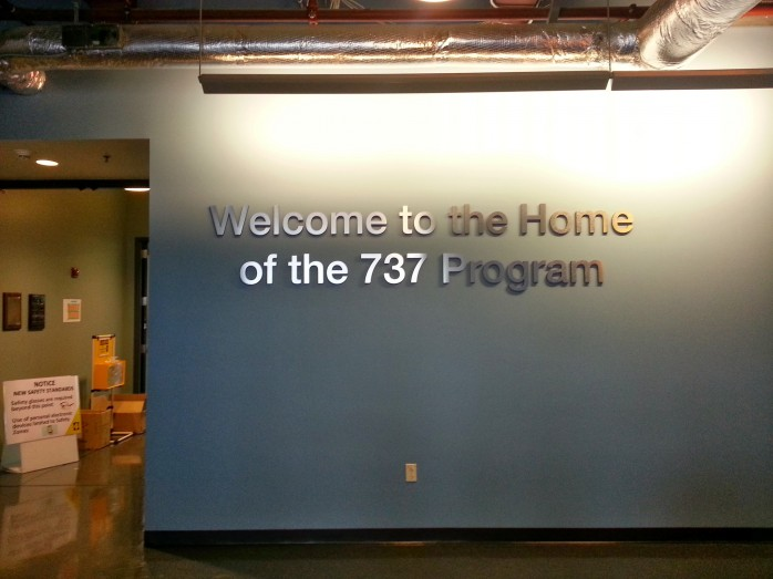 Welcome to the Boeing 737 Renton Factory