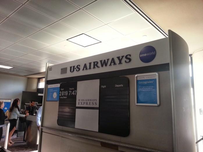US Airways oneworld