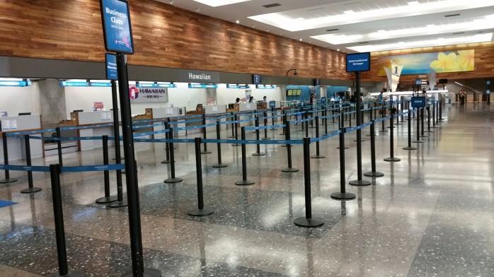Hawaiian Airlines Honolulu Ticket Counter