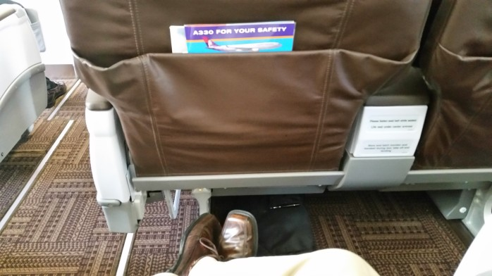 Hawaiian First Class Legroom