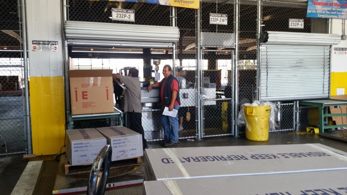 LAX Cargo Intake