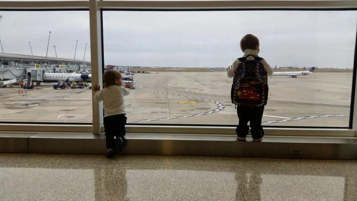 Plane Watching Indianapolis