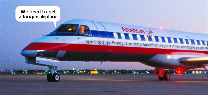 American Eagle Airlines Envoy