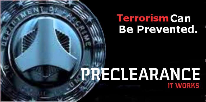 Preclearance Precrime