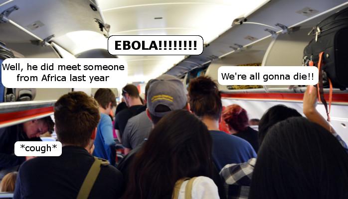 Ebola Airplane
