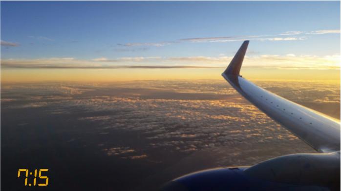 Spectacular Sunrise Over Southern California