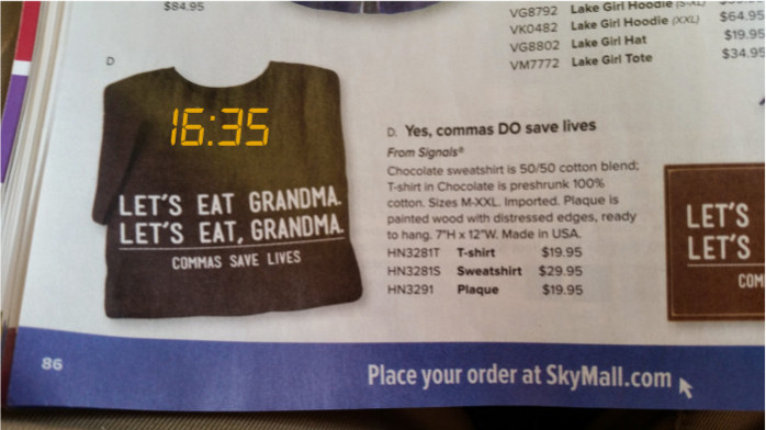 Browsing SkyMall