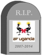 Air Uganda Tombstone