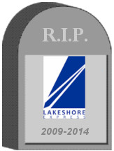 Lakeshore Express Tombstone