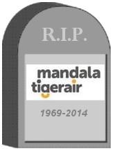 Mandala Tigerair Tombstone