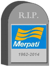 Merpati Tombstone