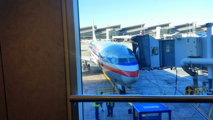 American 737 at the Gate