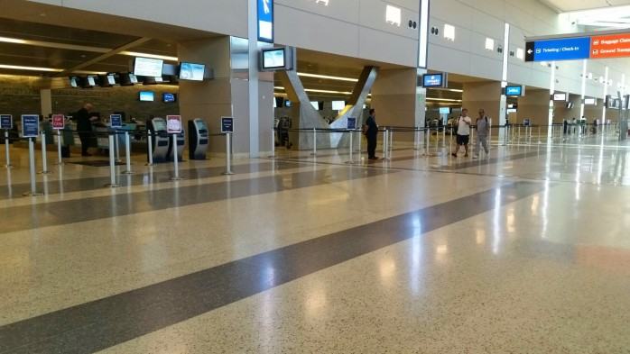 Las Vegas Terminal 3 Ticket Counter