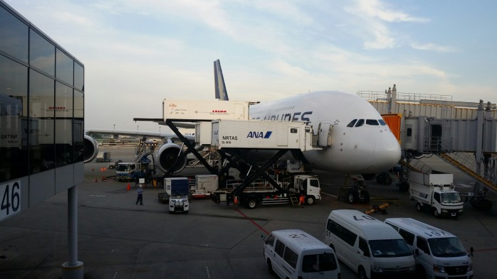 Our Singapore A380