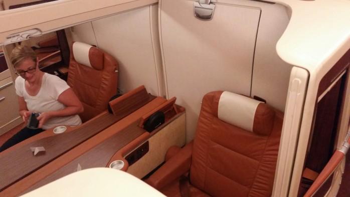 Singapore A380 Suites