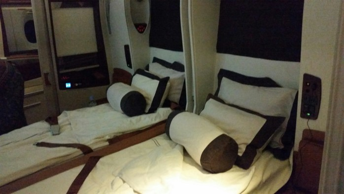 Singapore A380 Bed
