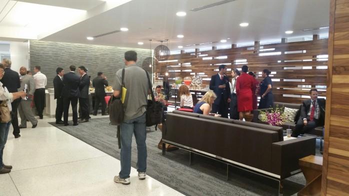 Delta One Lobby Lounge