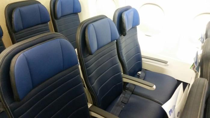 United Slimline Airbus Seats
