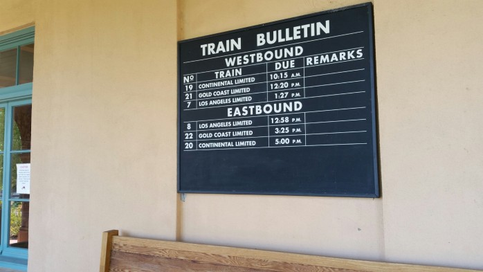 Kelso Historical Train Schedules