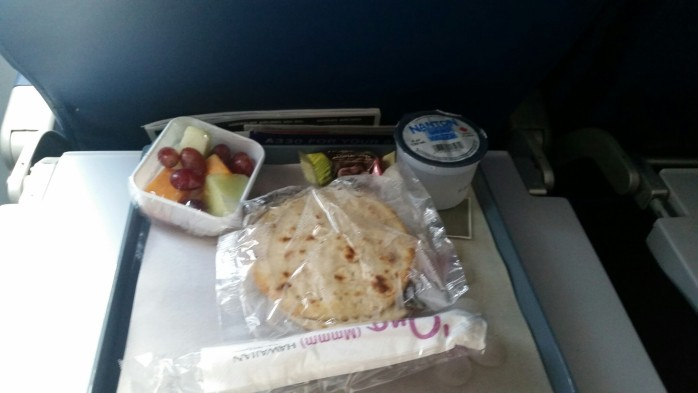 Breakfast on Hawaiian to Hawai'i