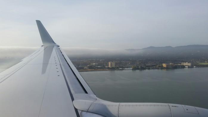 Landing SFO